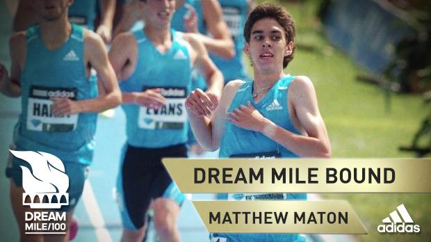 Matthew Maton ran the third-fastest Mile in prep history with his time of 3:59.38 to become the sixth high schooler to break four minutes.