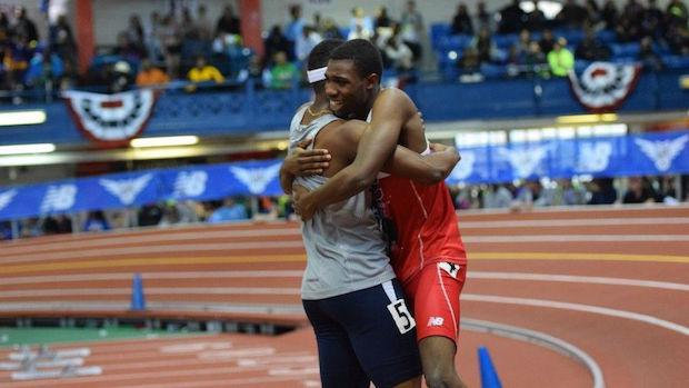 Ryan Clark and Noah Lyles traded wins in the 60m and 200m at New Balance Nationals Indoor. Both will travel to the Caribbean Scholastic Invitational in Cuba.