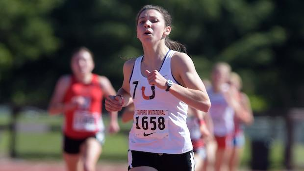 Christina Aragon of Billings won her seventh and eighth Montana state titles in the 1600m (4:45) and 400m (55.87).