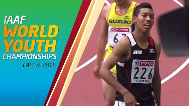 Abdul Hakim Sani Brown of Japan is the favorite to sweep the 100m and 200m at the IAAF World Youth Championships this week.