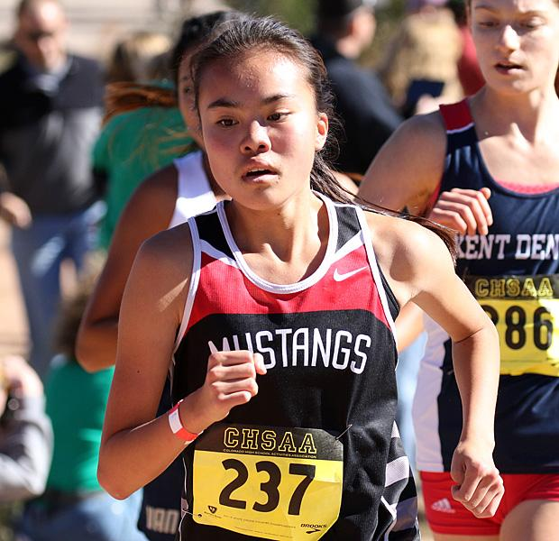Colorado Track XC 3A Girls All-State 2015