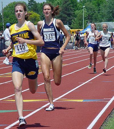 Throwback: Molly Huddle in High School