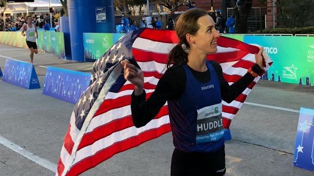 Molly Huddle beats Jordan Hasay to United States half marathon record in Houston