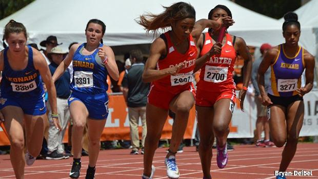 Historically April Sees Fast 4x100s From Texas California